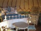 Beautiful Yurt B and B.