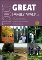 AA 1001 Great Family Walks: Britain