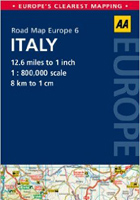 AA Road Map Italy