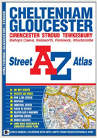 Cheltenham, Gloucester and Stroud Street Atlas