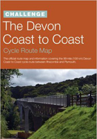 The Devon Coast to Coast Cycle Route Map